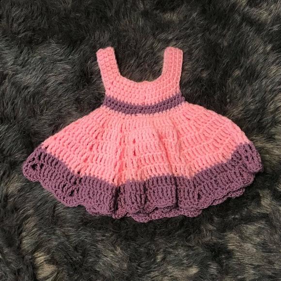 Crocheted Dresses Baby Dress Poshmark